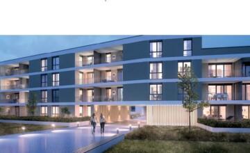 Attraktive 3‑Zi.-Wohnung mit Loggia und Bergsicht am Stadtpark von Aulendorf, 88326 Aulendorf, Etagenwohnung