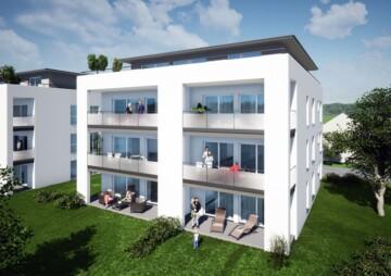 Neubauwohnung in Blitzenreute mit traumhaftem Weitblick, 88273 Fronreute, Etagenwohnung