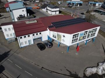 Nachhaltige Gewerbeimmobilie in werbewirksamer Lage von Amtzell, 88279 Amtzell / Schattbuch, Factory Outlet