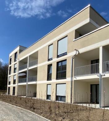Erstbezug:Tolle 2‑Zimmerwohnung in Aulendorf,  Aulendorf, Etagenwohnung