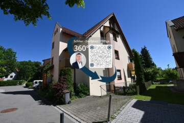 Schöne 3,5 – Zimmer DG Maisonette-Wohnung in Schlier, 88281 Schlier, Dachgeschosswohnung