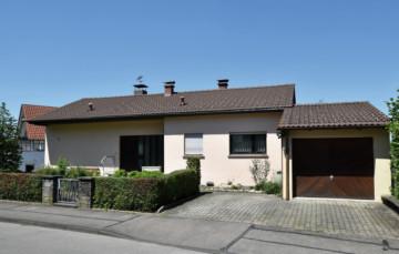 Freistehendes Einfamilienhaus in sonniger Höhenlage von Weingarten, 88250 Weingarten, Einfamilienhaus