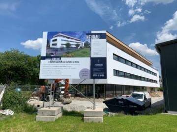 Neubau-Erstbezug: Gewerbeflächen in werbewirksamer Lage von Weingarten, 88250 Weingarten, Bürohaus