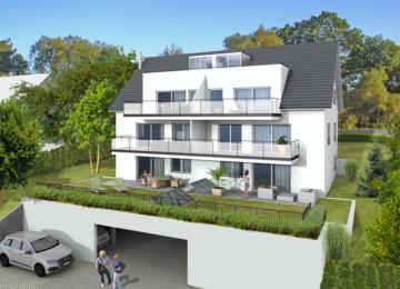 Aussergewöhnliche Neubau-Dachgeschosswohnung  in Ravensburg-Süd, 88214 Ravensburg, Dachgeschosswohnung