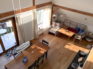 Schöne 4,5 Zimmer-Galeriewohnung im Zentrum von Bergatreute, 88368 Bergatreute, Dachgeschosswohnung