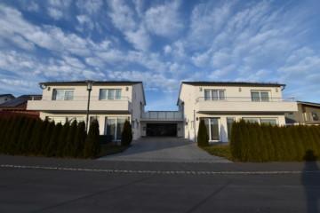 *Waldburg Aussichtslage* – Zwei moderne Einfamilienhäuser mit Doppelgarage, 88289 Waldburg, Zweifamilienhaus