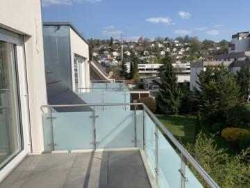 Topaussicht & stadtnah *Neubau* Dachgeschoss Wohnung in Ravensburg-Süd, 88214 Ravensburg / Weißenau, Maisonettewohnung