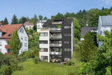 Toplage von Ravensburg – Attraktive 3,5 Zi. Neubauwohnung mit Panoramablick in der Federburgstrasse, 88214 Ravensburg, Etagenwohnung