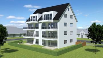 Neubauvorhaben in Ravensburg: 4‑Zi. Terrassenwohnung mit Gartenanteil, 88214 Ravensburg / Weißenau, Erdgeschosswohnung