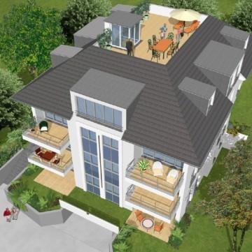 Neubauvorhaben: 7‑Familienhaus in Toplage der Ravensburger Banneggstraße, 88214 Ravensburg, Penthousewohnung