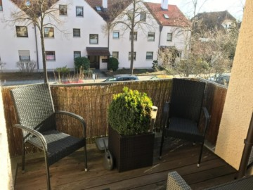 Sonnige 2‑Zimmer-Wgh. Nähe Kuhsee, Augsburg-Hochzoll, 86163 Augsburg / Hochzoll-Süd, Etagenwohnung