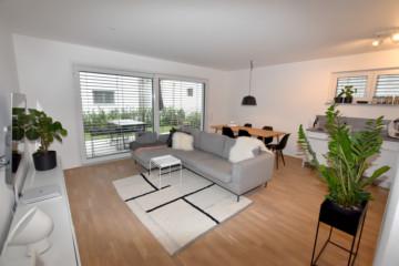 Neuwertige + barrierefreie 2 Zimmer-Wohnung in  schöner Aussichtslage von Vorberg, 88276 Berg, Erdgeschosswohnung