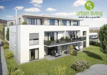 Urban Living – stadtnah wohnen, im grünen leben – jetzt KfW55, 88276 Berg, Etagenwohnung