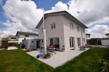 Neuwertiges Einfamilienhaus in schöner Aussichtslage von Grünkraut, 88287 Grünkraut, Einfamilienhaus